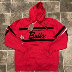 Mitchell &Ness NBA Chicago Bulls Head Coach Hoodie
